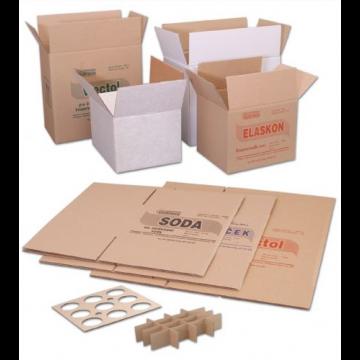 Skupinové a přepravní krabice s vnitřní výbavou