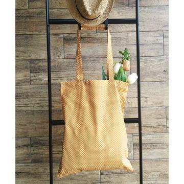 Plátěná taška vzor puntík
